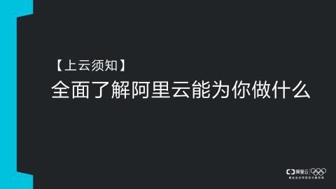 阿里云ECS功能介绍官方视频