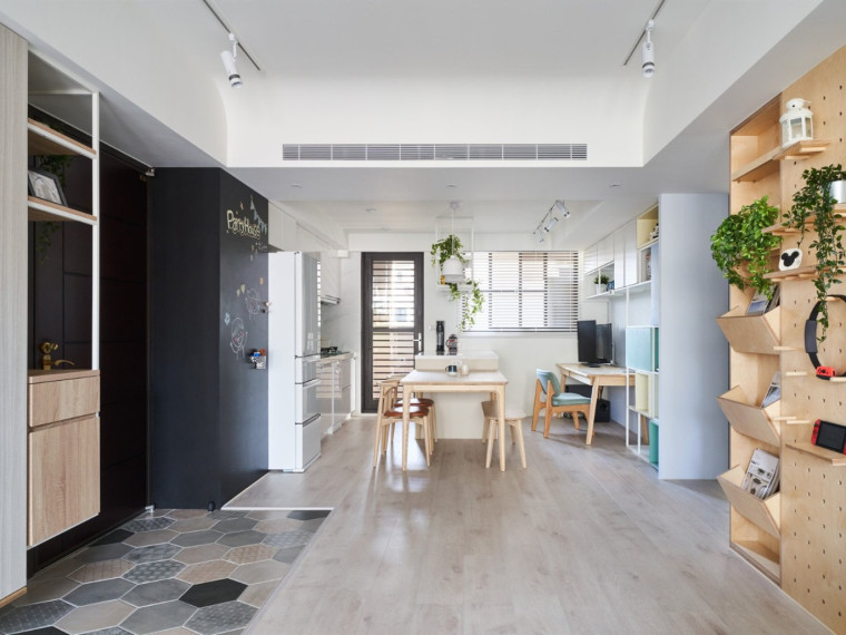 桃园现代简约风的住宅空间
